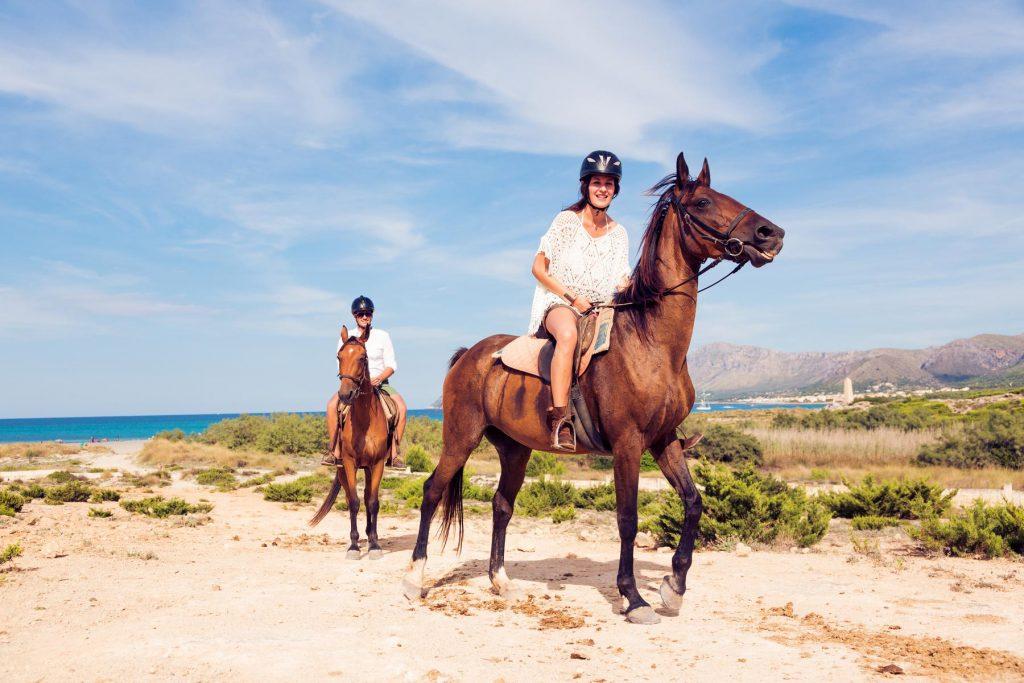 Horse riding breaks Sligo